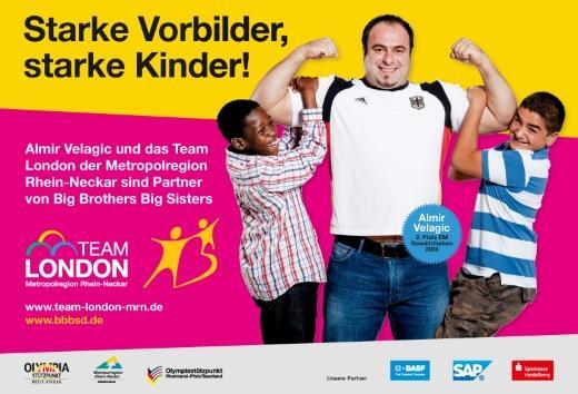 Foto: Team London Metropolregion Rhein-Neckar