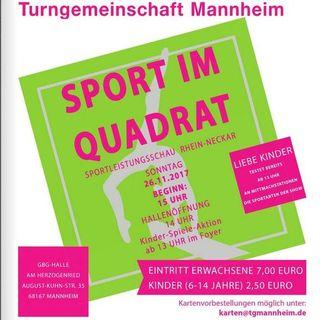 Sport im Quadrat